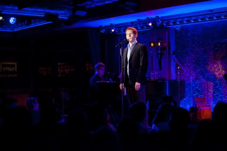 Max Chernin in performance at Feinstein's/54 Below