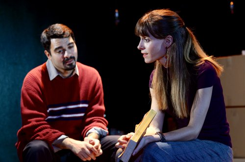 "Amadeo Fusca and Emily Batsford in a scene from ""Touch"" (Photo credit: Nikhil Saboo)"