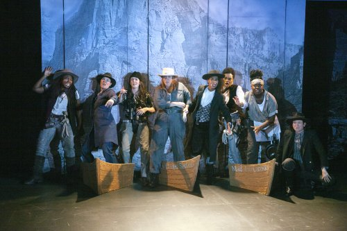 """The Cast of """"Men on Boats"""" (Photo credit: Elke Young)"""