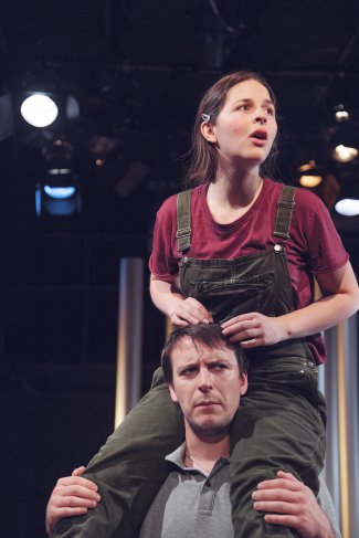 "Anni Dafydd and Michael Humphrey in a scene from ""The Good Earth"" (Photo credit: Tom Flannery)"