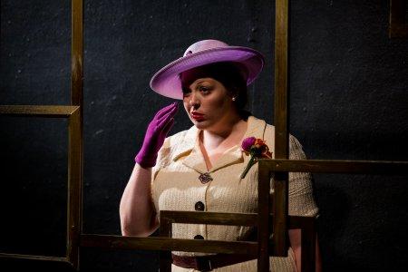"Rachel McPhee as Mary Shanley in ""Dead Shot Mary"" (Photo credit: Isaiah Tanenbaum Theatrical Photography)"