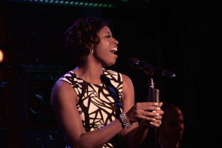 Montego Glover as she appeared in New York Pops Underground at Feinstein's/54 Below on September 19, 2016 (Photo credit: Genevieve Keddy)