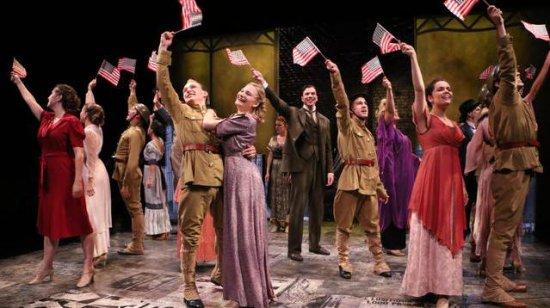 """The company of """"Fiorello!"""" (Photo credit: Alexander Hill)"""
