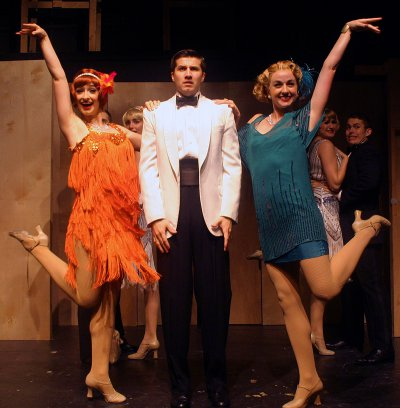 "Caitlin Wilayto, Patrick Graver and Whitney Winfield in a scene from ""Funny Face"" (Photo credit: Michael Portantiere)"