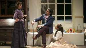 "MICHAEL CAIZZI IN ""THE CHERRY ORCHARD"" Photographer: Jonathan Heisler, Hofstra University Photographer"