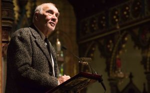 Frank Langella's EAG Memorial Address. Photo credit: ahronfoster.com