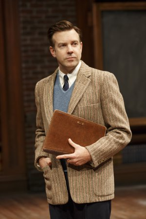 """Jason Sudeikis in a scene from """"Dead Poets Society"""" (Photo credit: Joan Marcus)"""