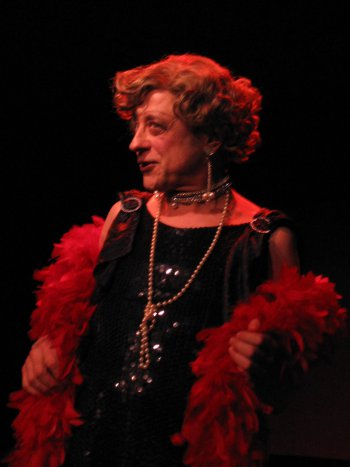 "Jeremy Lawrence in ""Lavender Songs: A Queer Cabaret in Weimar Berlin"" (Photo credit: Adriano)"