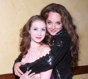Lyrica Woodruff and Melissa Errico