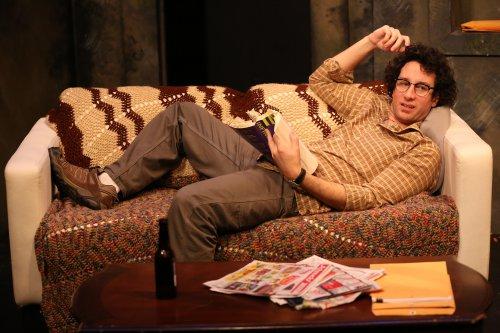 "Michael Hogan in a scene from Gabe McKinley's ""Homebody"" (Photo credit: Carol Rosegg)"