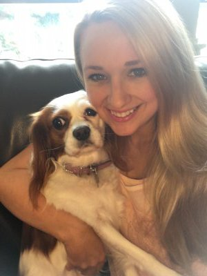 Meghan Miller and furry friend