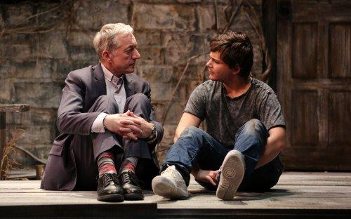 "Sean Gormley and Robert Simonian in a scene from ""Jonah and Otto"" (Photo credit: Davidawa Photography)"