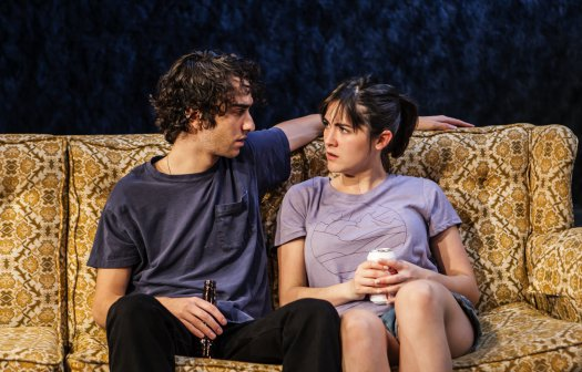 """Alex Wolff and Isabelle Fuhrman in """"All the Fine Boys"""" (Photo credit: Monique Carboni)"""
